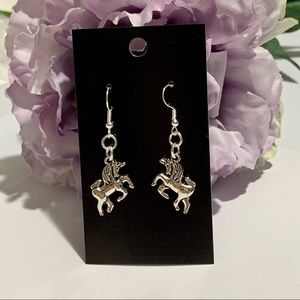 Cute Unicorn Dangle Fashion Earrings - Dimensional